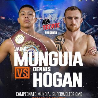 Preview Of WBO Middleweight Titlefight Between Jaime Munguia vs Dennis Hogan In Mexico + Clarissa Shields v Christina Hammer For MW Title's