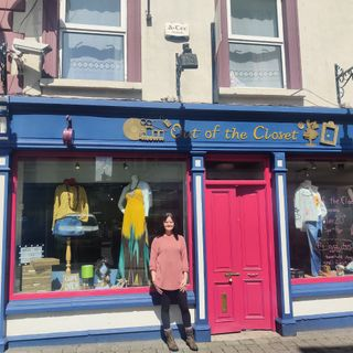 """Joanne Roche discusses new thrift shop """"Out of the Clozet"""" in Lismore"""