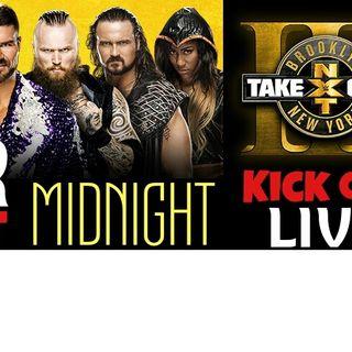 WNR118 NXT Takeover Brooklyn 3 Part 1 Kick Off