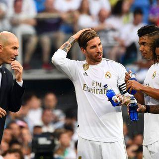 Zidane, la pelota y el pressing
