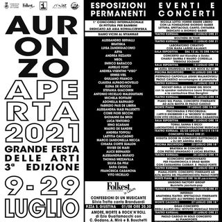 Auronzo Aperta E20 e CONCERTI dal 9 luglio