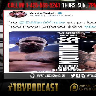 ☎️Andy Ruiz, Whyte Clout Chaser❗️Big Charlo Moving Up to 168😱Oscar's Holding Back Garcia-Haney😢