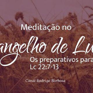 Episódio 119 - Lucas 22:07-13 - Os Preparativos Para A Ceia - Rodrigo Barbosa