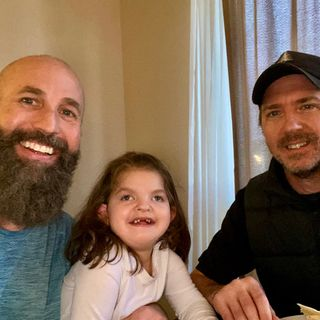 Dad to Dad 140 - Young Girl With Wolf Hirschhorn Syndrome Benefits  From The Love Of Her Father & Mother's Significant Other