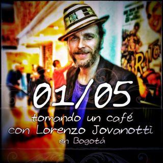 1/5 #UnCafeConJovanotti