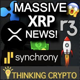 Bullish XRP News! Synchrony Bank Patent Reveals XRP & R3 Corda Use - SEC Ripple Lawsuit