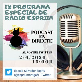 Ràdio Espriu 2019-2020. Programa XXVI