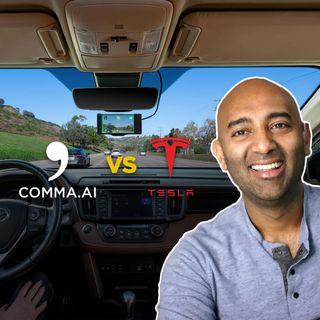 29. Comma 2 Openpilot vs. Tesla Autopilot | Two Bit da Vinci