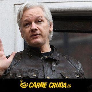 Carne Cruda - Juicio a Assange: 10 años de persecución y torturas (#786)