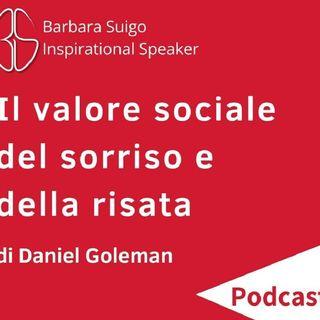 Il Valore Sociale Del Sorriso E Della Risata - di Daniel Goleman