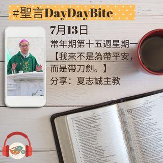 13/07/2020 聖言DayDayBite - 夏志誠主教分享
