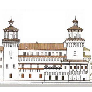 1 febbradio 1554. Incendio del Castello Estense
