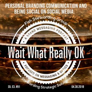 Personal branding communication and being social on social media