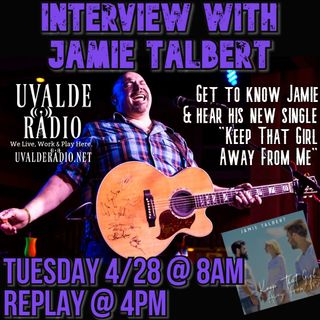 "Jamie Talbert / New Single ""Keep That Girl Away From Me"""