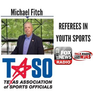 Referees in Youth Sports || Michael Fitch Discusses LIVE (6/22/18)