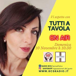 Tutti a Tavola,  Puntata del 22 Dicembre 2019 - La nuova Rubrica di Rcs Radio Ogni Domenica alle 11