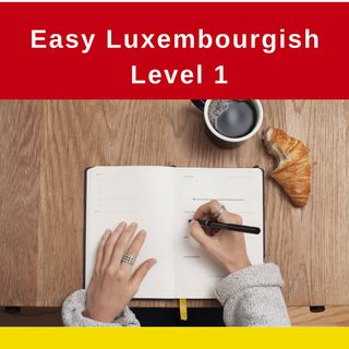 Introducing: Easy Luxembourgish - Level 1