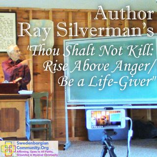 """Author Ray Silverman's """"Thou Shalt Not Kill: Rise Above Anger / Be a Life-Giver"""""""