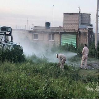 Hay una fuga de gas en Tezoyuca