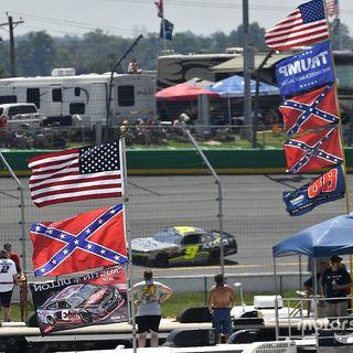 NASCAR Driver Quits over Confederate Flag Ban!