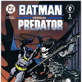 "Unspoken Issues #13 - ""Batman vs. Predator"" #1"