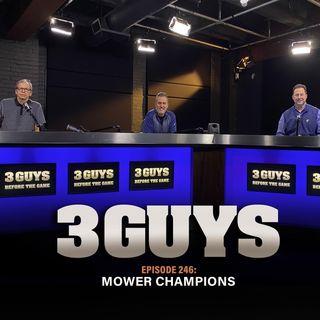 Mower Champions with Tony Caridi, Brad Howe and Hoppy Kercheval