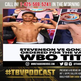 ☎️Shakur Stevenson-Joet Gonzalez Strike Deal, First Title Shot❗️VADA 💉Testing