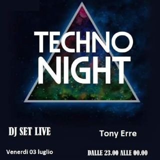 Dj Set Tony erre On Air Ora