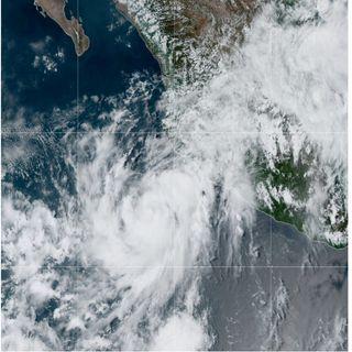 Elida ya es huracán de categoría 1