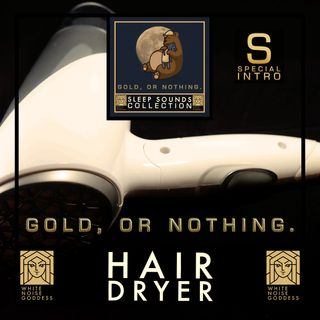 Low Speed Hair Dryer | White Noise | Deep Sleep