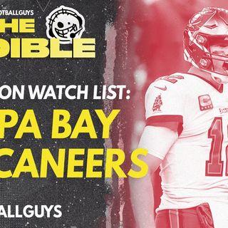 2021 Fantasy Football - Tampa Bay Buccaneers Preseason Watch List
