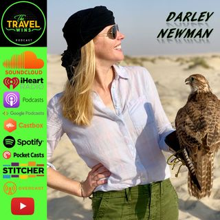 "Darley Newman | it's fun being the host of the Emmy winning ""Travel With Darley"" show"