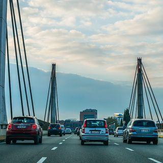 Milan City Center Traffic ASMR