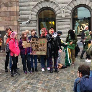 #oltrape Today we strike in Stockholm