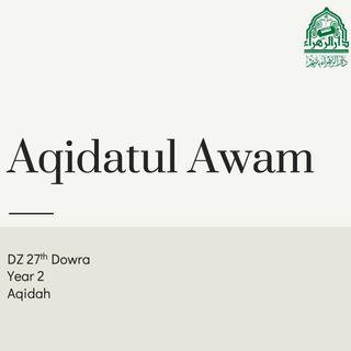 Dowra27-Aqidatul Awam