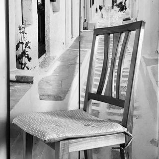 Pratica e respiro sulla sedia