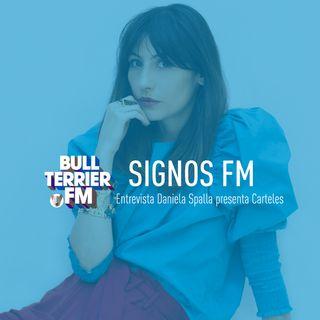 SignosFM Entrevista Daniela Spalla presenta Carteles