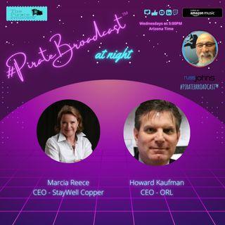 Catch Marcia Reece and Howard Kaufman on the #PirateBroadcast™