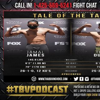 ☎️Jamal James vs. Thomas Dulorme🔥 For Vacant WBA interim Welterweight Title❗️Live Fight Chat🥊