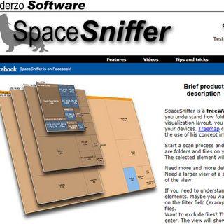 Attrezzi: Hard Disk esaurito ? Ecco come trovare le cartelle piu' grandi con  Spacesniffer di Uderzo.it