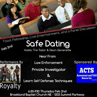 First Thursday Singles Session: Safe Dating