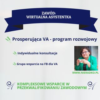 ZVA: Specjalizacje VA - Copywriter Karolina Brzuchalska