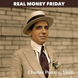 Financial radio host is busted for running a classic Ponzi scheme.