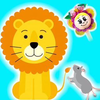 6. El león y el ratón. Cuento para niños, una fábula infantil para aprender que todos somos importantes