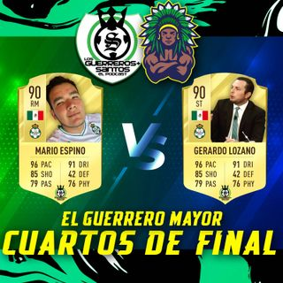 El Guerrero Mayor | Batalla #1 | Cuartos de Final | Gerardo vs Mario