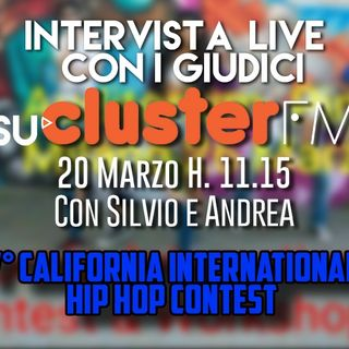 #DDPP Live con i giudici del V° Calfiornia Hip Hop Contest