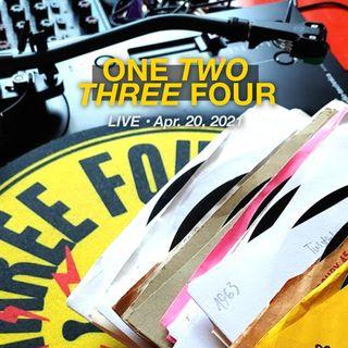 1234 Live • Apr. 20, 2021 Vinyl Only 50s 60s