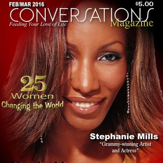 Legendary Recording Artist Stephanie Mills on #ConversationsLIVE
