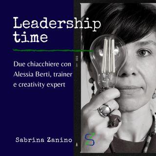 Due chiacchiere con Alessia Berti, trainer e creativity expert