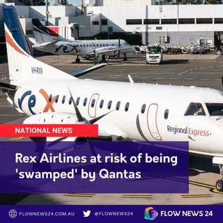 Air wars - Rex Airlines 'swamped' by Qantas' 'intimidation'